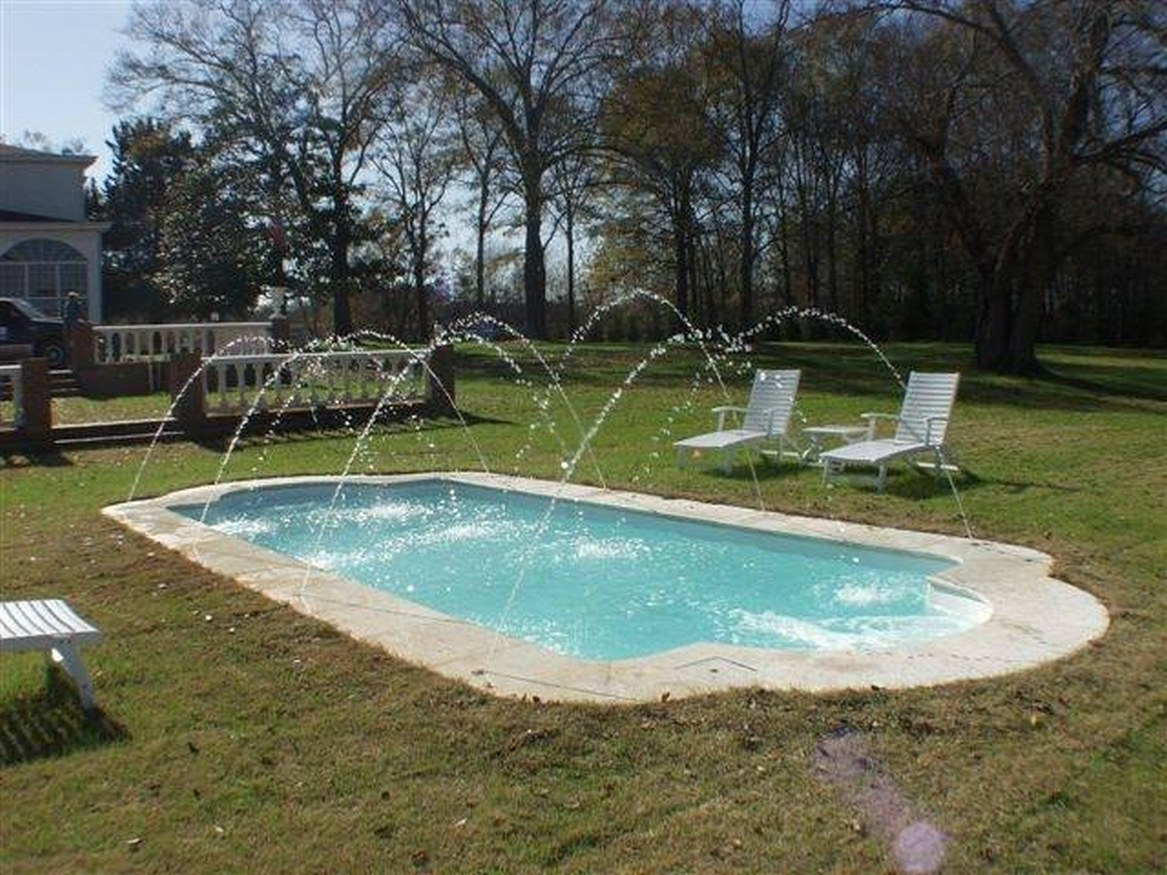 Inground Fiberglass Pools One Of The Best Home Design