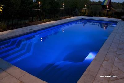 Fiberglass swimming pools custom pool builder central alabama georgia inground pool - Barrier reef pools ...