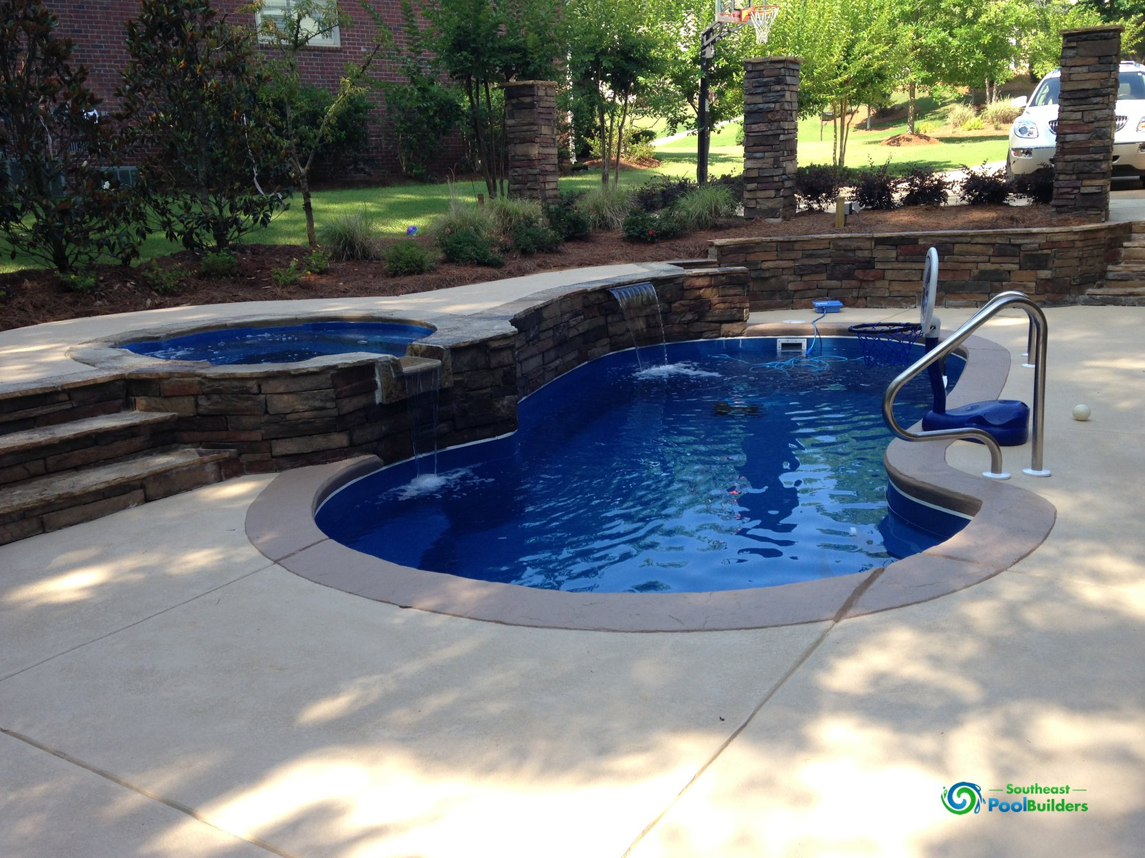 ... Concrete Pool #010 By Southeast Pool Builders ...