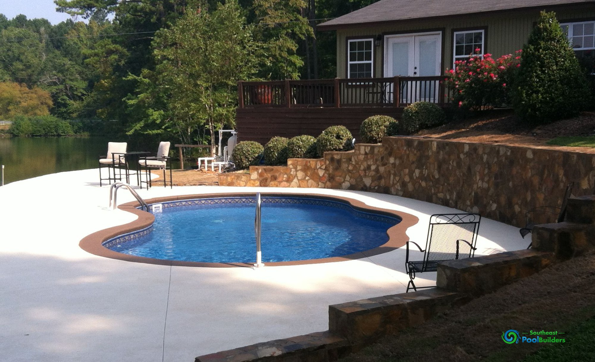 Vinyl Liner Pool #001 By Southeast Pool Builders ...