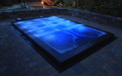 Fiberglass swimming pools custom pool builder central for Fiberglass pool manufacturers